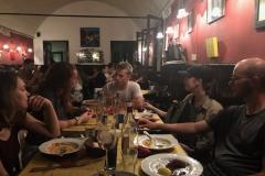 Dinner at Trattoria da Nane della Giulia, Padova