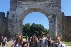 Arco di Augusto, Rimini