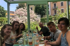 Lunch at Un posto a Milano