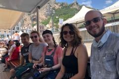 Aboard ferry boat, Amalfi
