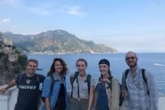 Walk in Atrani, near Amalfi