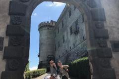 Outside Castello Orsini-Odescalchi, Bracciano, Rome