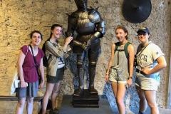 Inside Castello Orsini-Odescalchi, Bracciano, Rome