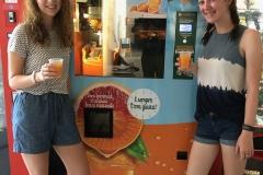 Fresh OJ Vending, Rome