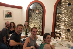 Lunch at Velavevodetto, Roma