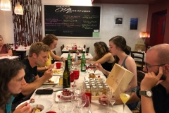 Dinner at Mangiafuoco, Roma